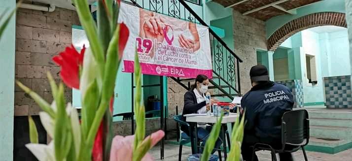 Realizan campaña de detección de cáncer de mama en Gómez Farías