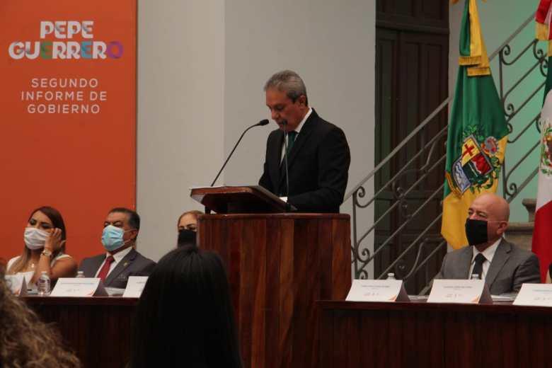 Obras polémicas destacaron en el segundo informe de Pepe Guerrero