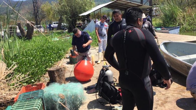 Reportan pescador ahogado en laguna de Zapotlán