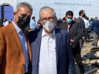 Alcalde participa en evento político masivo en Guadalajara