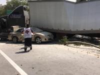 Por accidente cierran autopista GDL- Colima a la altura de Tuxpan