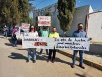 Imagen: Archivo, docentes durante manifestación en 2020. Cortesía: profesores