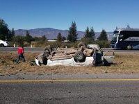 Accidente en autopista GDL- Colima deja 6 personas lesionadas