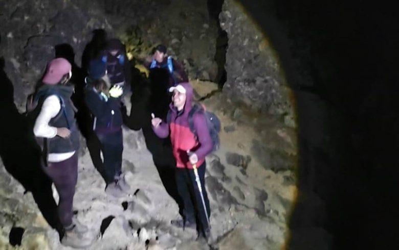 Rescatan a 6 en el Nevado