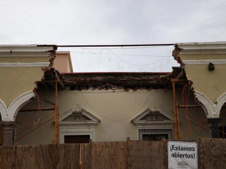 Aseguradora ya pagó al municipio para la restauración del portal Hidalgo. Serán dos meses de obra