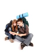 Backpacker couple 1
