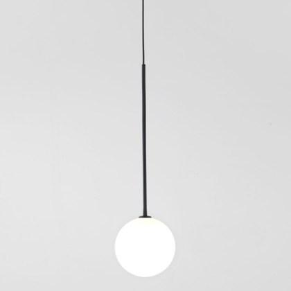 002c1215 Lámpara Suspensión Globo Negro