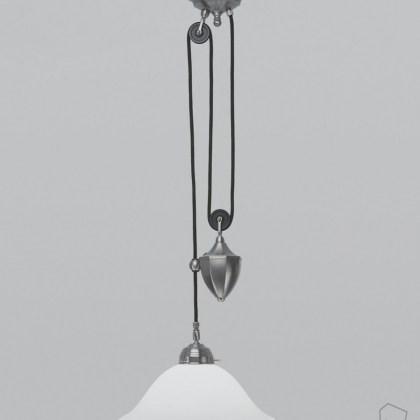 Lámpara Modernista Poleas