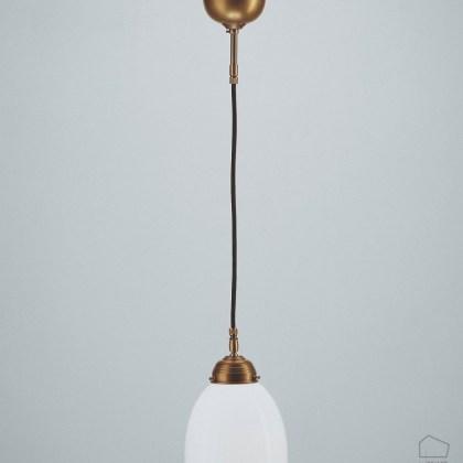 Lámpara tulipa cristal