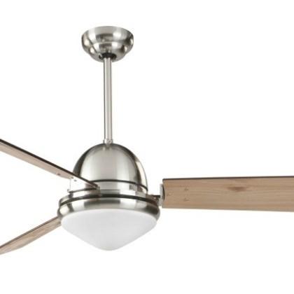 03950991 Ventilador de techo con luz (palas reversibles) d.132 x h37 cms