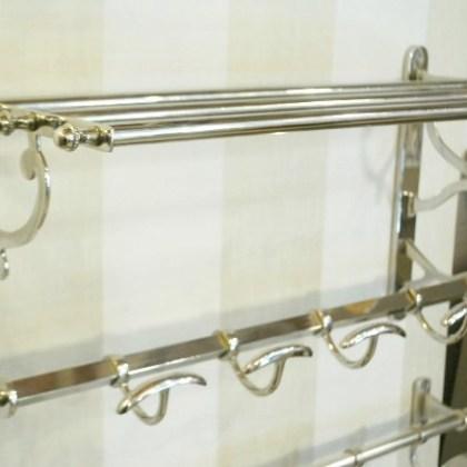 05455979240 Perchero con repisa, estilo vintage ( 55x26xh30 )