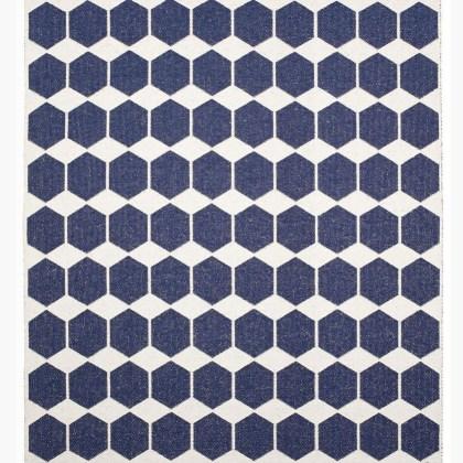 085annden1331004 Alfombra ANN Reversible Azul Denim