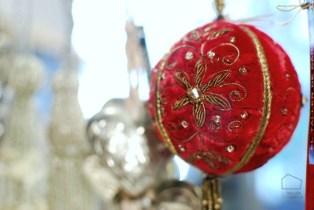 decoración para el árbol con glamour