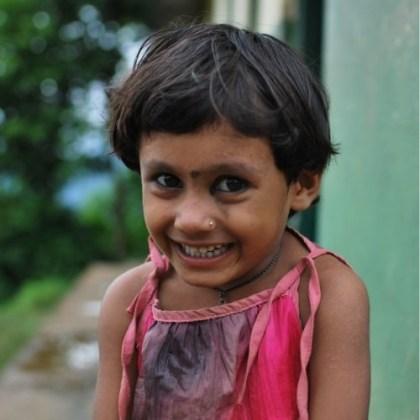 Namratha, alumna de Amigos de Tara