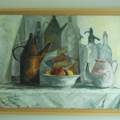 Bodegón, estudio ventanal ( 50 x h65 cms )