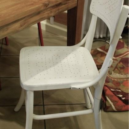 Silla Thonet blanca mod. Formentera