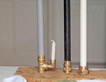 candelabro diy