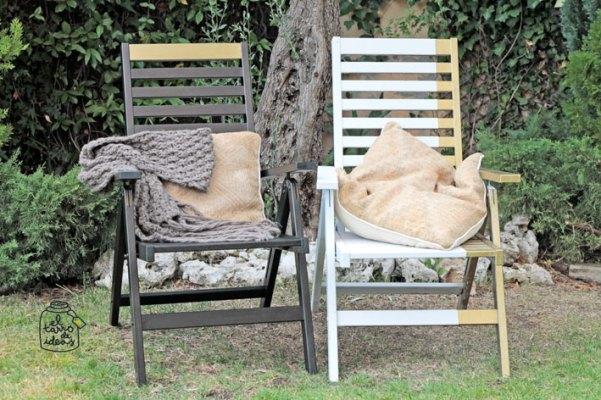 tumbona idea pintar muebles de ikea personalizar personalizado original ideas inspiración decoración hogar jardín