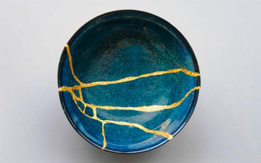 kintsukuroi, ceramica, arte, curiosidades, tradicion japonesa