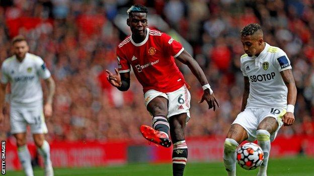 Paul Pogba, Manchester United, Leeds United