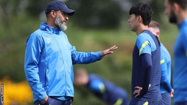 Son Heung-min was injured while on international duty with South Korea