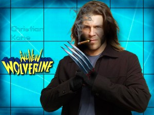 Fan Photoshop Edit of Christian Kane as Wolverine