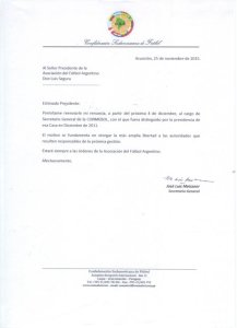 renuncia Meizsner