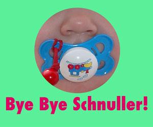 Bye Bye Nuggi - Tschüss Schnuller!