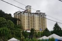 Hochhäuser zerstören das Landschaftsbild