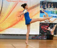 Juegos Misioneros: hubo brillo de la gimnasia rítmica
