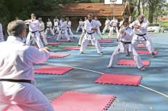 El karate tuvo su regreso presencial en la capital