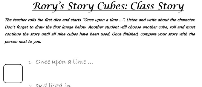 Class Story Template