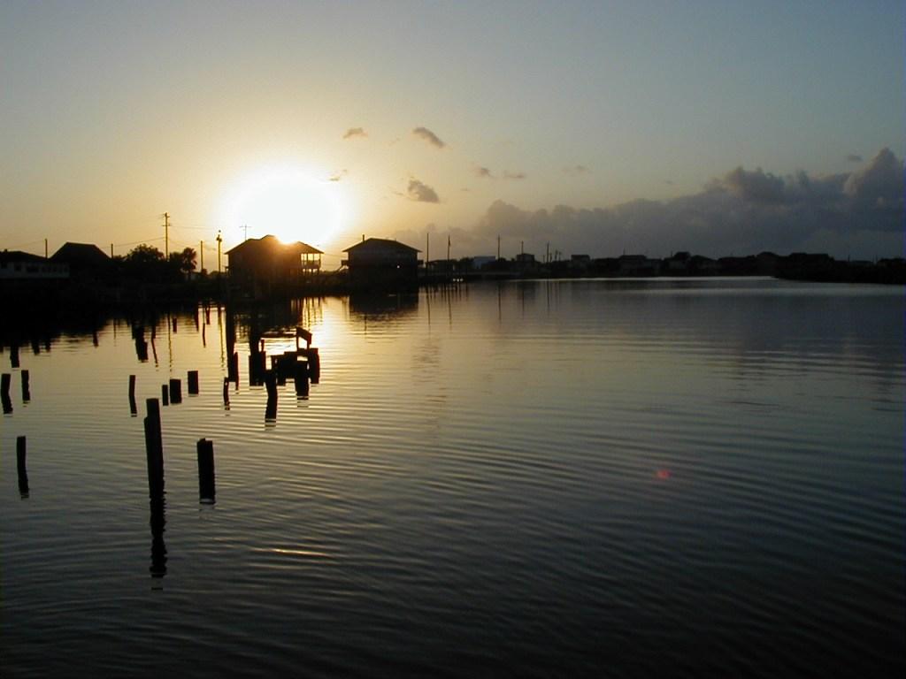 Morning Sun - Dawn on the Bayou