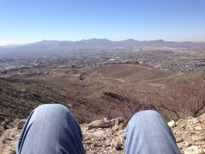 El Paso from the Franklin Mountains