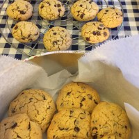 Cookies de chocolate (galletas americanas).