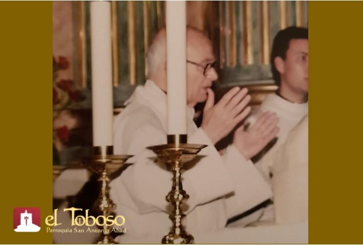 Ha fallecido Don Teófilo Gómez-Chacón Talavera, párroco emérito de El Toboso