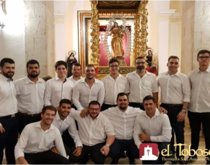 Salida procesional extraordinaria de la Patrona de El Toboso en imágenes