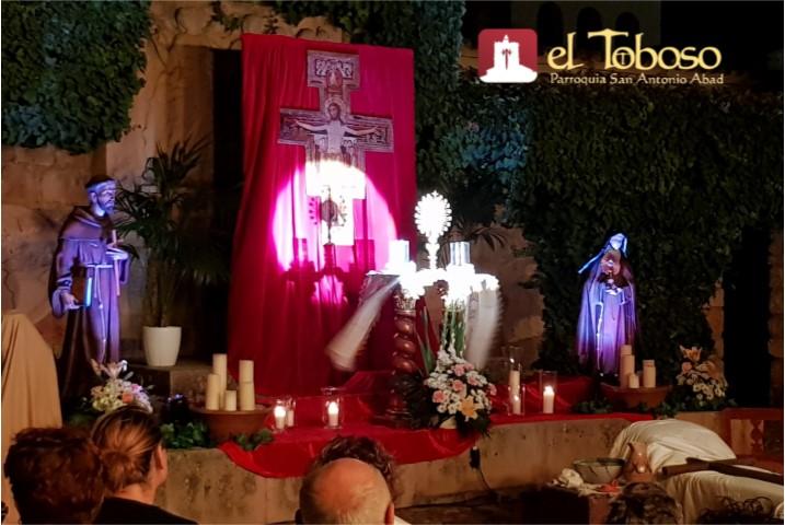 La Vigilia y Concierto de Oración de Santa Clara de El Toboso en imágenes y vídeo