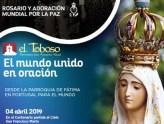 """""""La Catedral de La Mancha"""" es una de las sedes del Rosario Mundial por la Paz el próximo 4 de abril"""