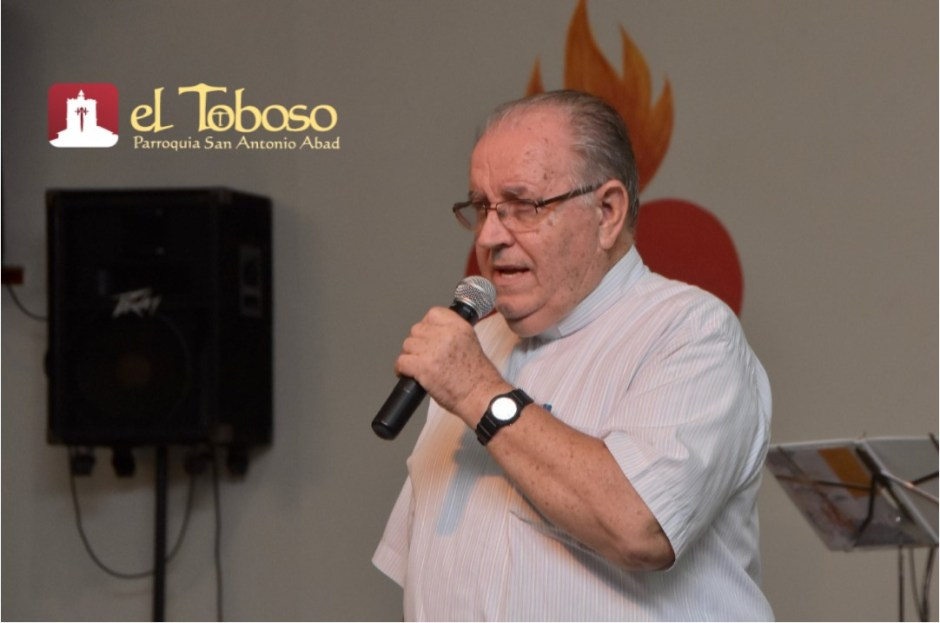 """Misionero y toboseño P. José Vicente Martínez, """"bodas de oro sacerdotales"""" (2)"""