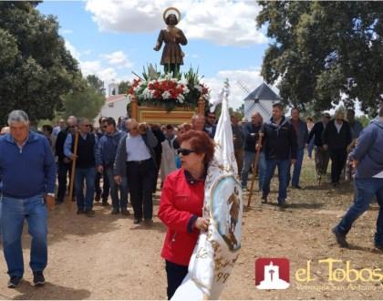 Saluda del Párroco de El Toboso en la «Fiesta de San Isidro Labrador»