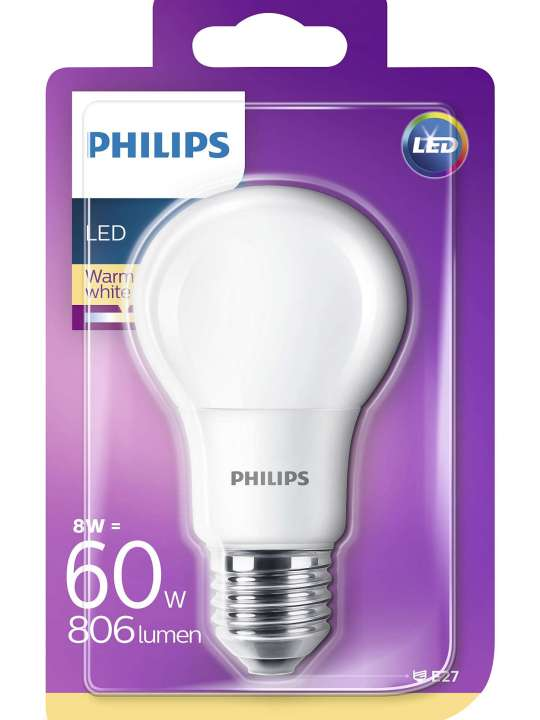 Philips 9W E27 220V A60 806lm 2700K CORE PRO LED sijalica - 00106 76 000