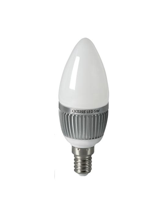 Gauss 5W E14 220V B35 510lm 2700K LED sijalica