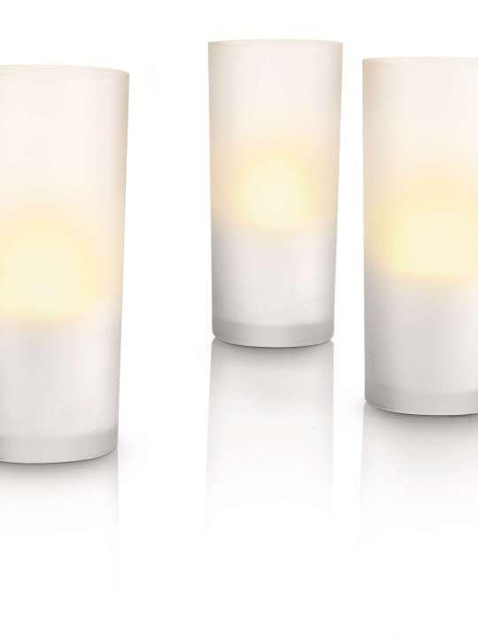 Philips CANDLELIGHTS 3L SET stona lampa - 69108/60/PH