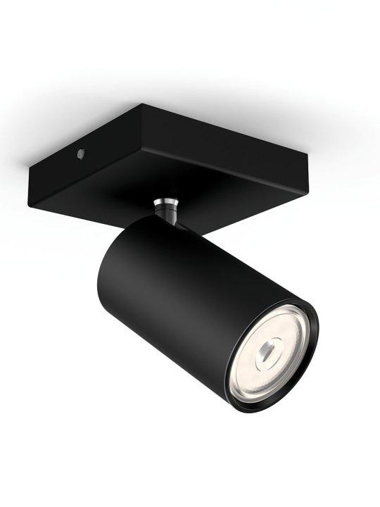 PHILIPS KOSIPO 1xGU10 CRNA spot lampa - 5059130PN - 1