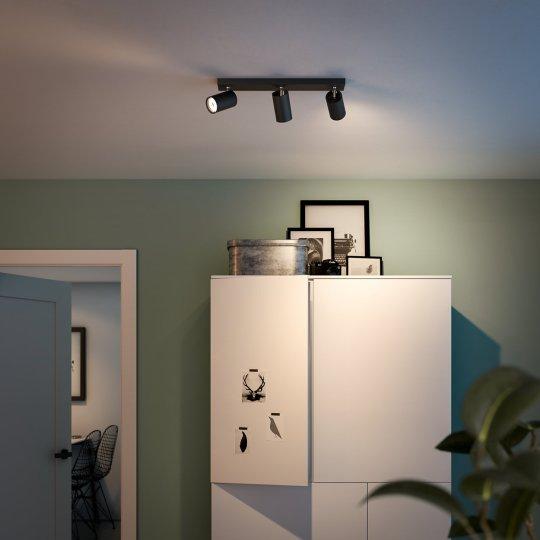 PHILIPS KOSIPO 3xGU10 CRNA spot lampa - 5059330PN - 4