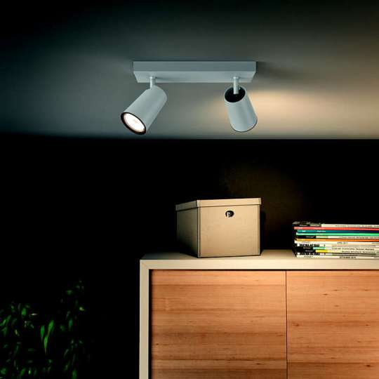 PHILIPS PAISLEY 2xGU10 BELA spot lampa - 5057231PN - 3