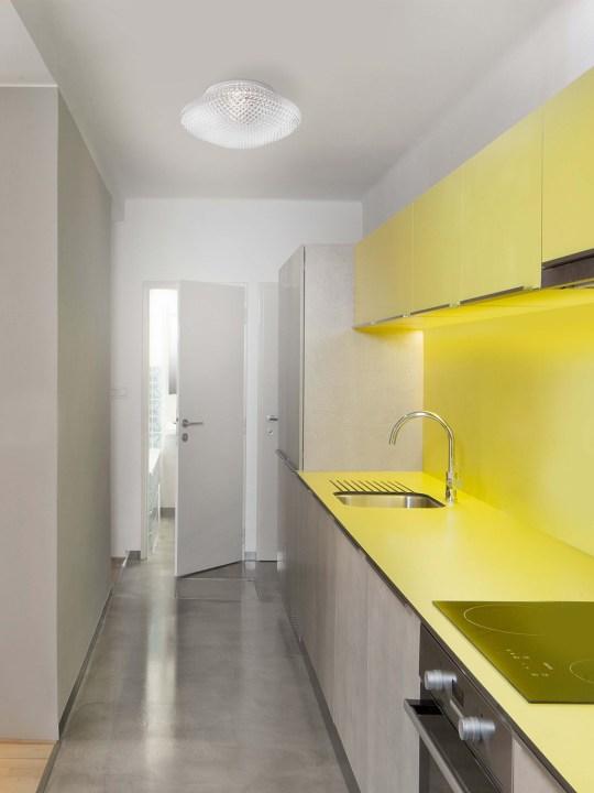 NOVA LUCE kupatilska zidna lampa SENS - 838123
