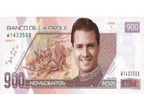 Los dislates de Peña Nieto. Punto # 203 de diciembre 15, 2011 (2/2)