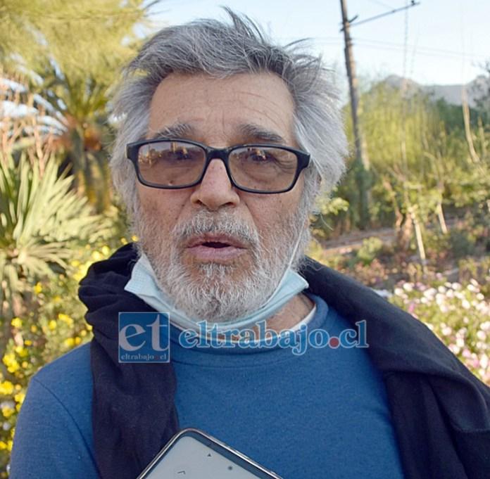 Conductor que arrolló al peatón, profesor pensionado Jorge Muñoz Duque.